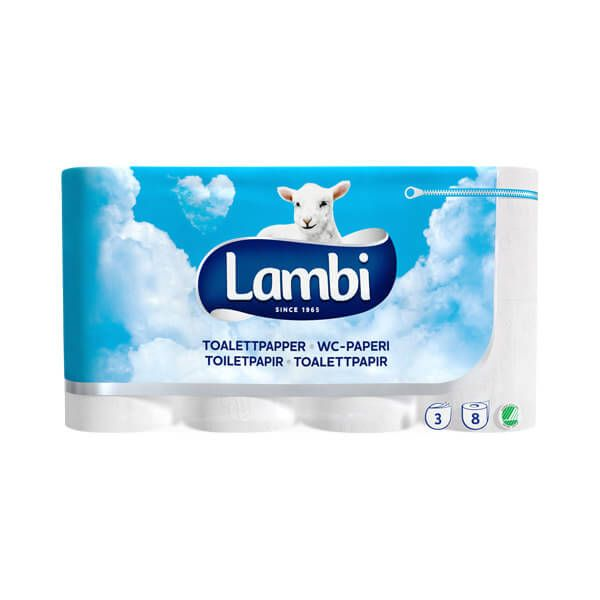 3-lags toiletpapir