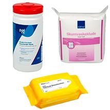 Desinfektionsklude og engangsklude
