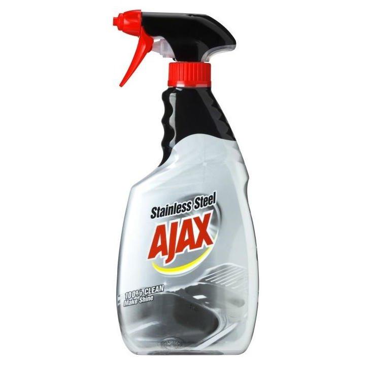 Image of Ajax stålpleje, klar-til-brug, 500 ml