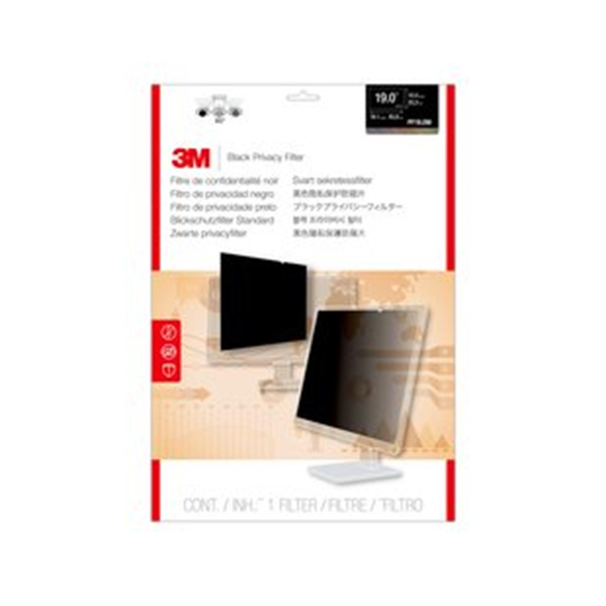 Image of 3M skærmfilter desktop 19,0'' widescreen (16:10)