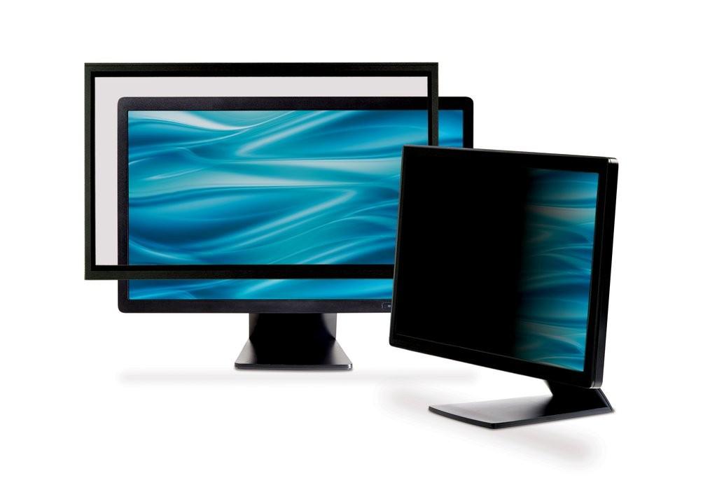 Image of 3M Privacy framed filter for desktop 24'' widescreen (16:10)