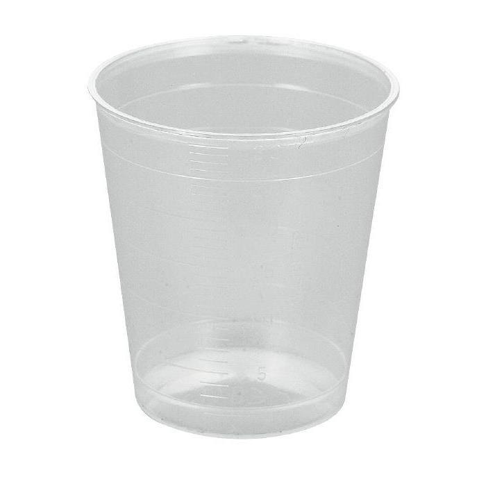 Image of Abena Medicinbæger, Ø3,7 cm, transparent, 30 ml, 3750 stk.