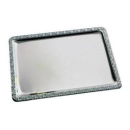 Image of Serveringsfad Barocco, 1/1 GN, rustfrit stål, 53x32,5 cm
