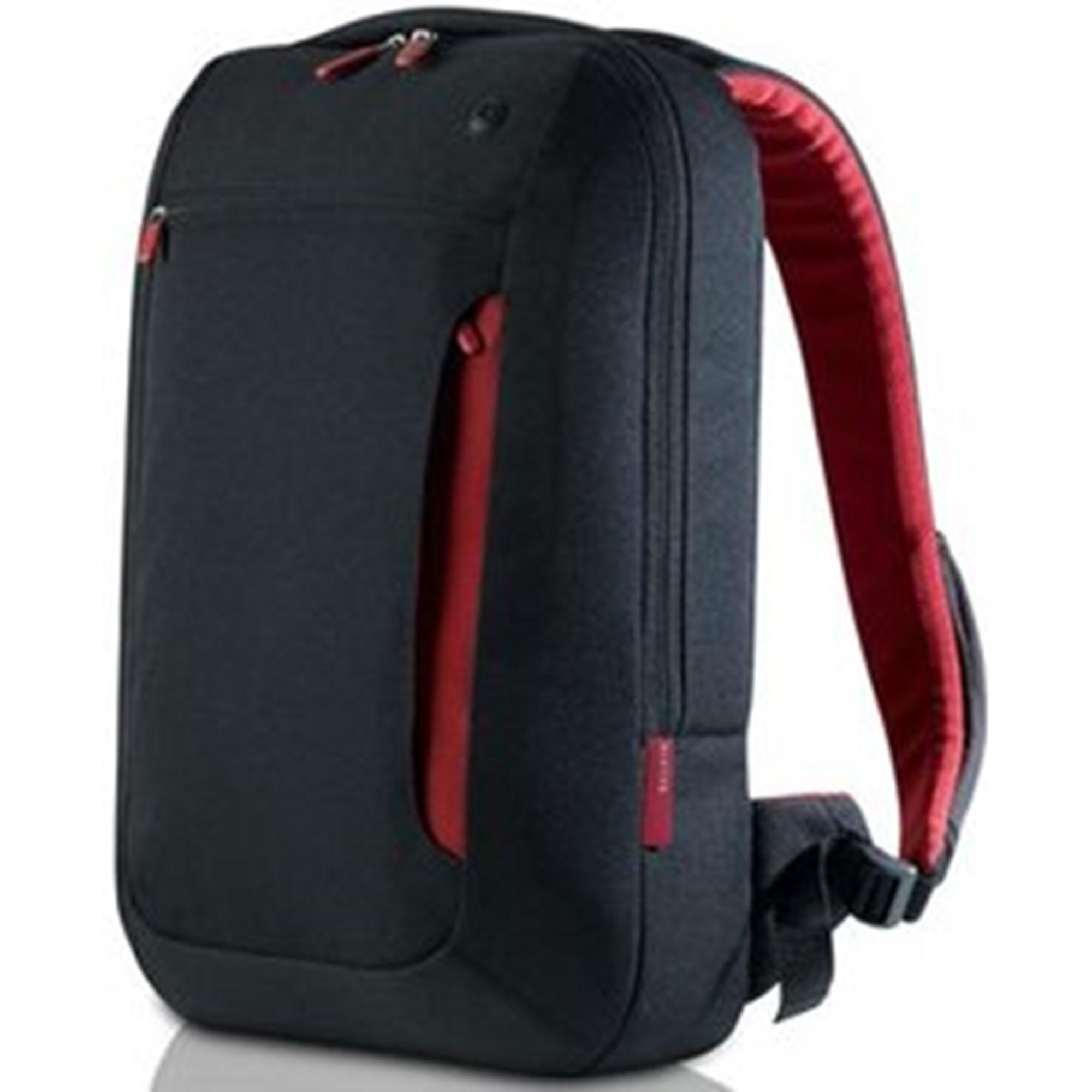Image of 17'' Notebook Backpack Slim, Jet/Cabernet