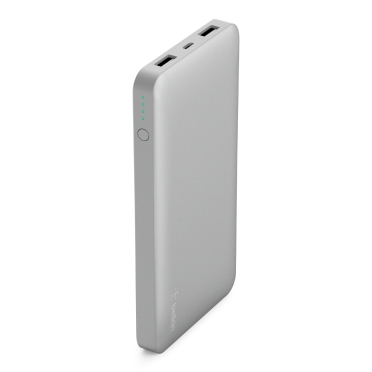 Image of   Pocket Power 10K Power Bank, Silver