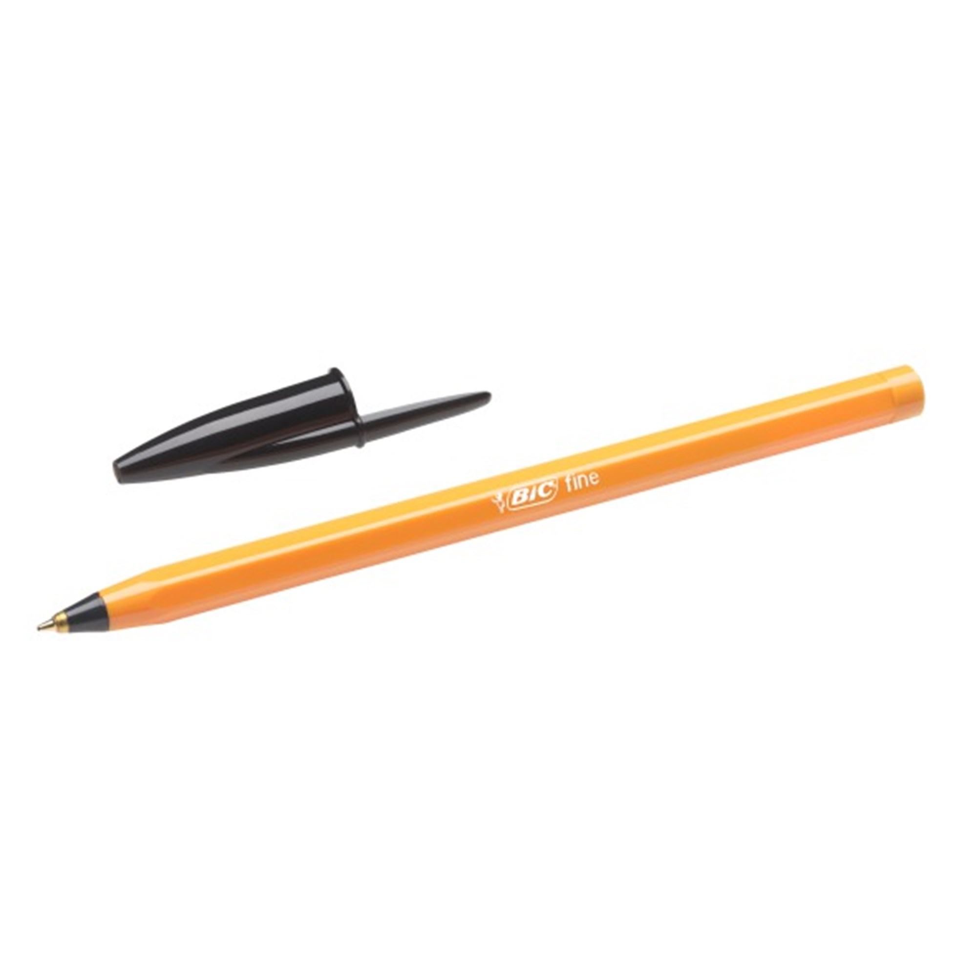 Image of   Bic Orange fine kuglepenne sort - BIC8099231