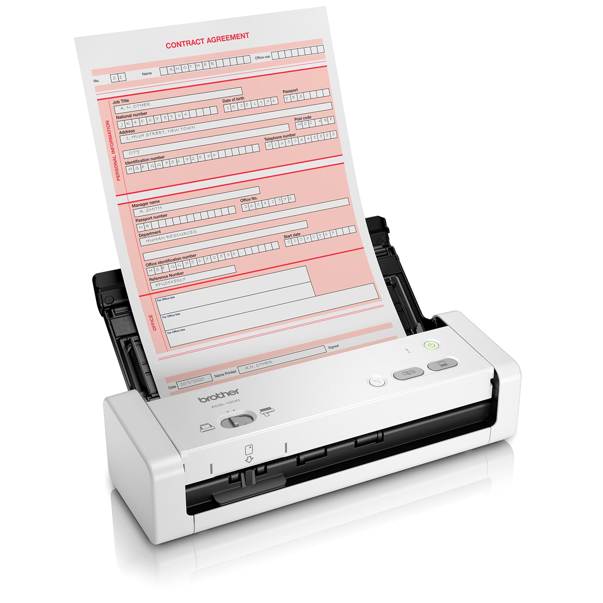 Billede af ADS-1200 Mobil scanner