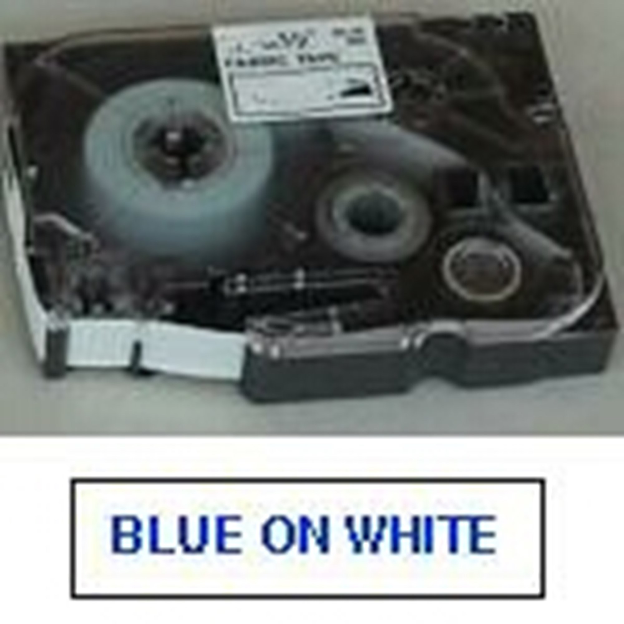 Image of   Brother TZe tape 18mmx8m blue/white