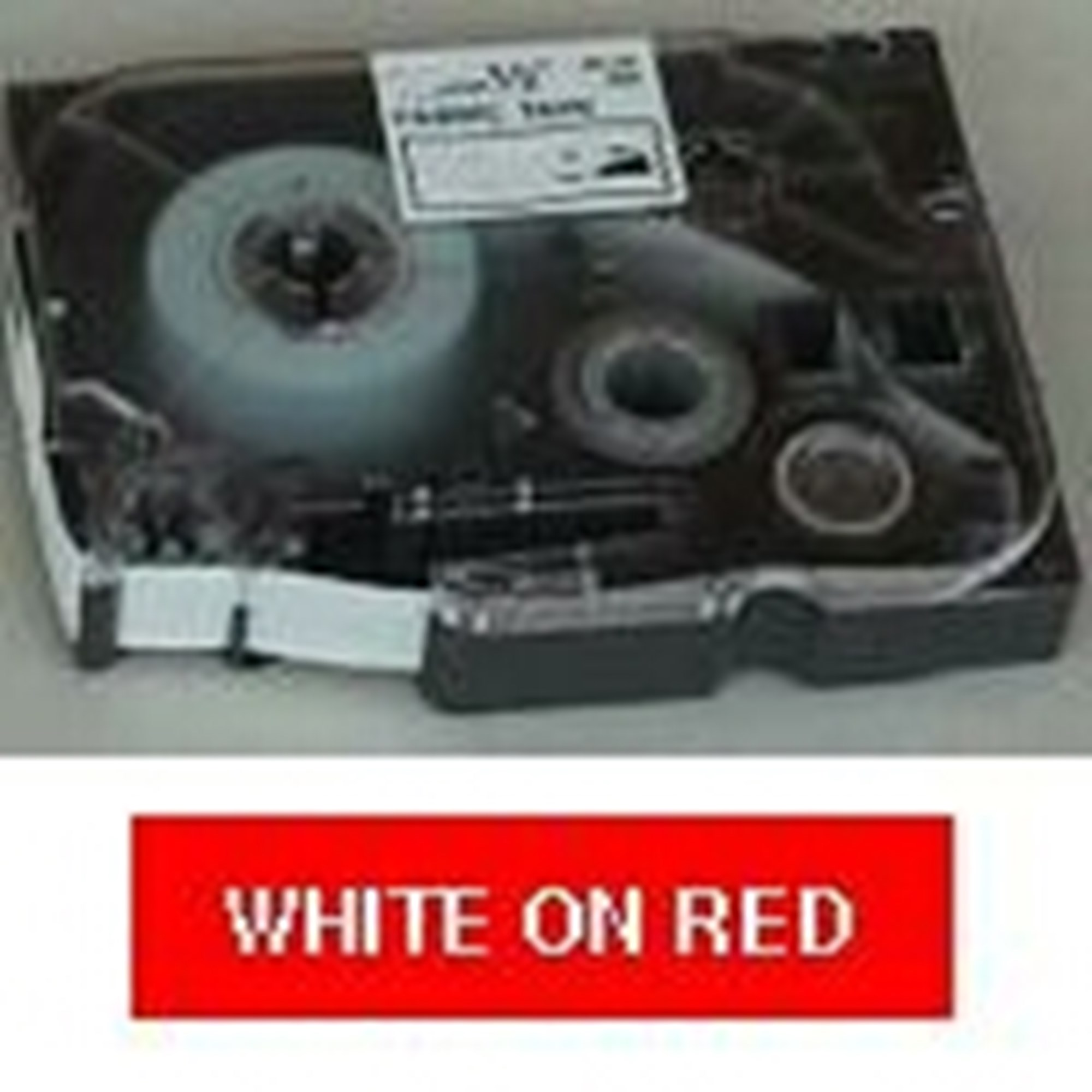 Image of   Brother TZe tape 12mmx8m white/red