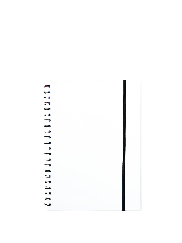 Billede af Büngers, Notesbog A5 plast med spiralryg transparent