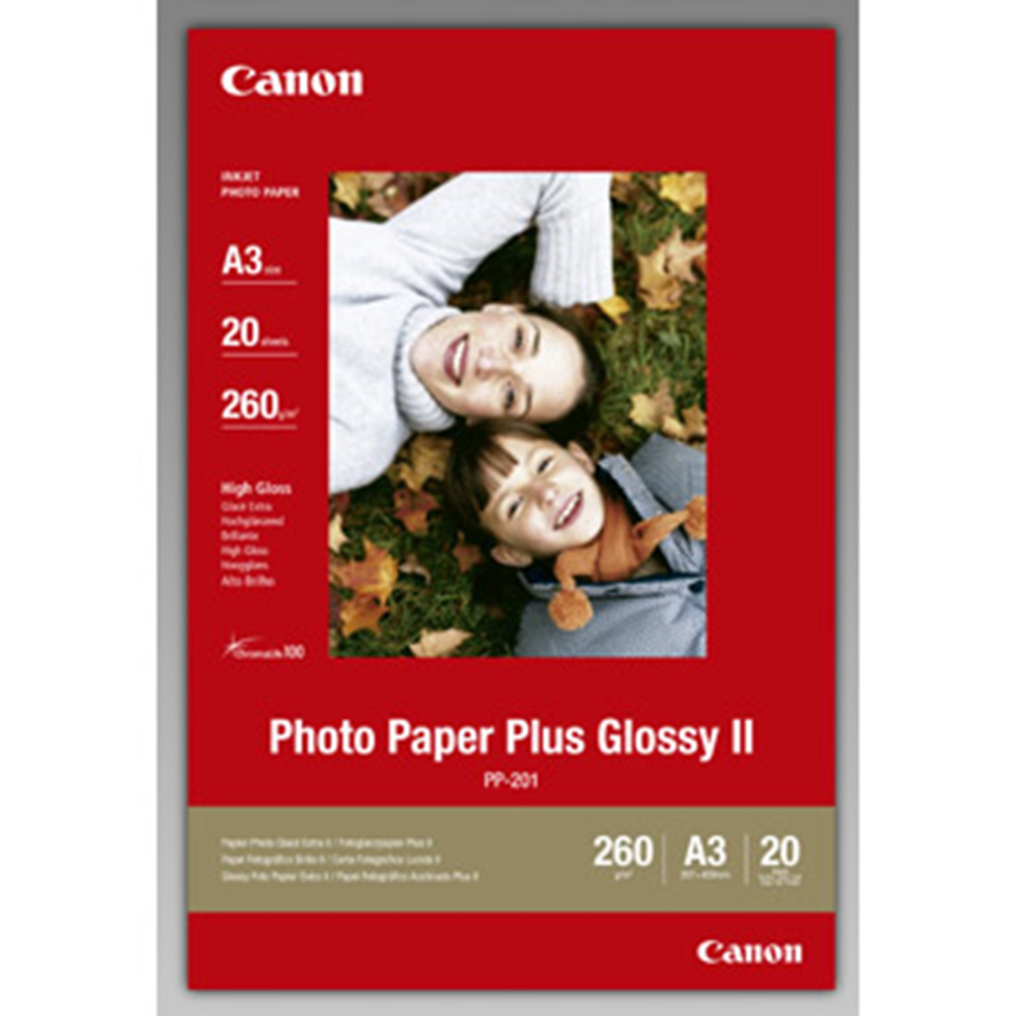 Image of   A3 PP-201 Photo Paper Plus II 265g (20)