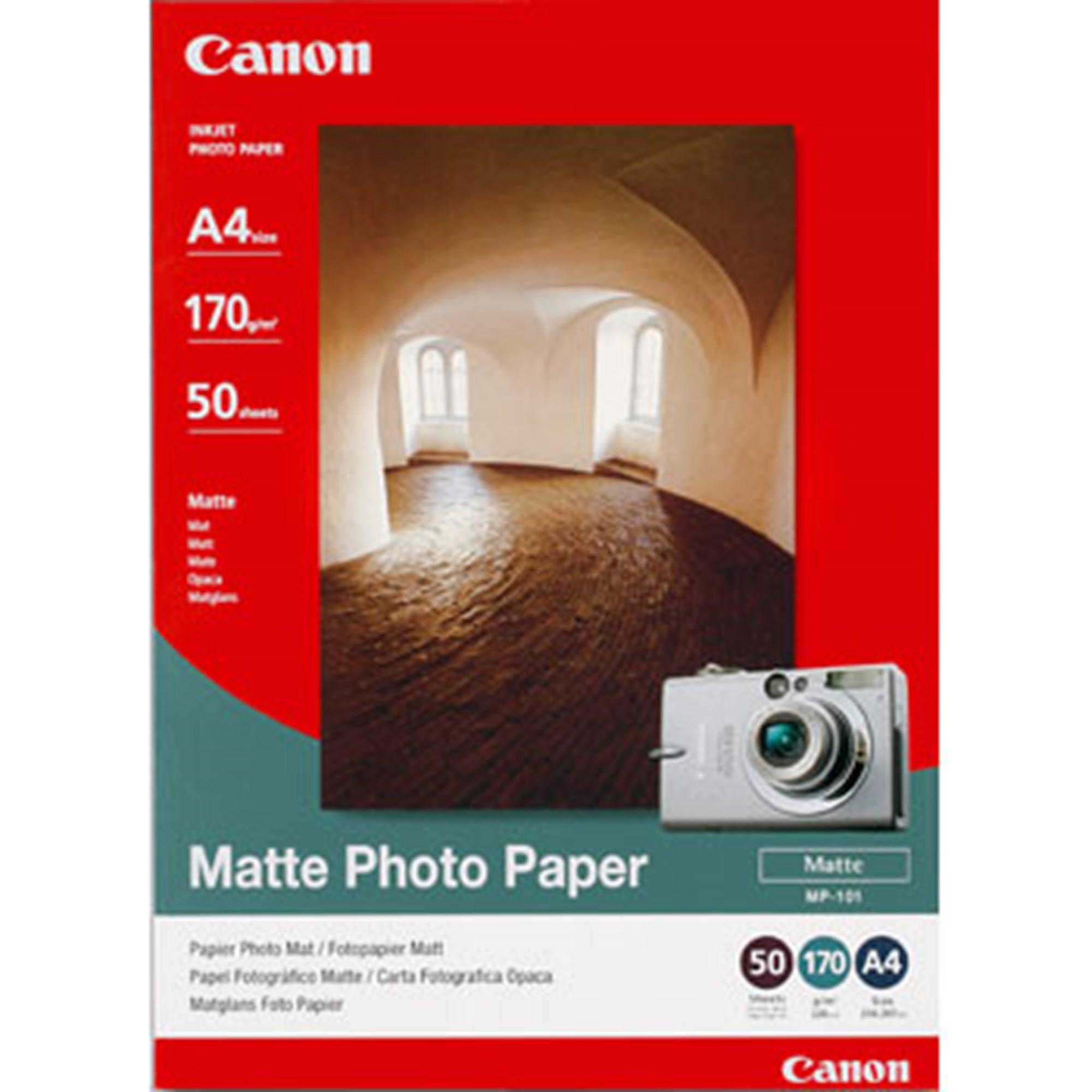 Image of   A4 MP-101 Matte Photo 170g (50)