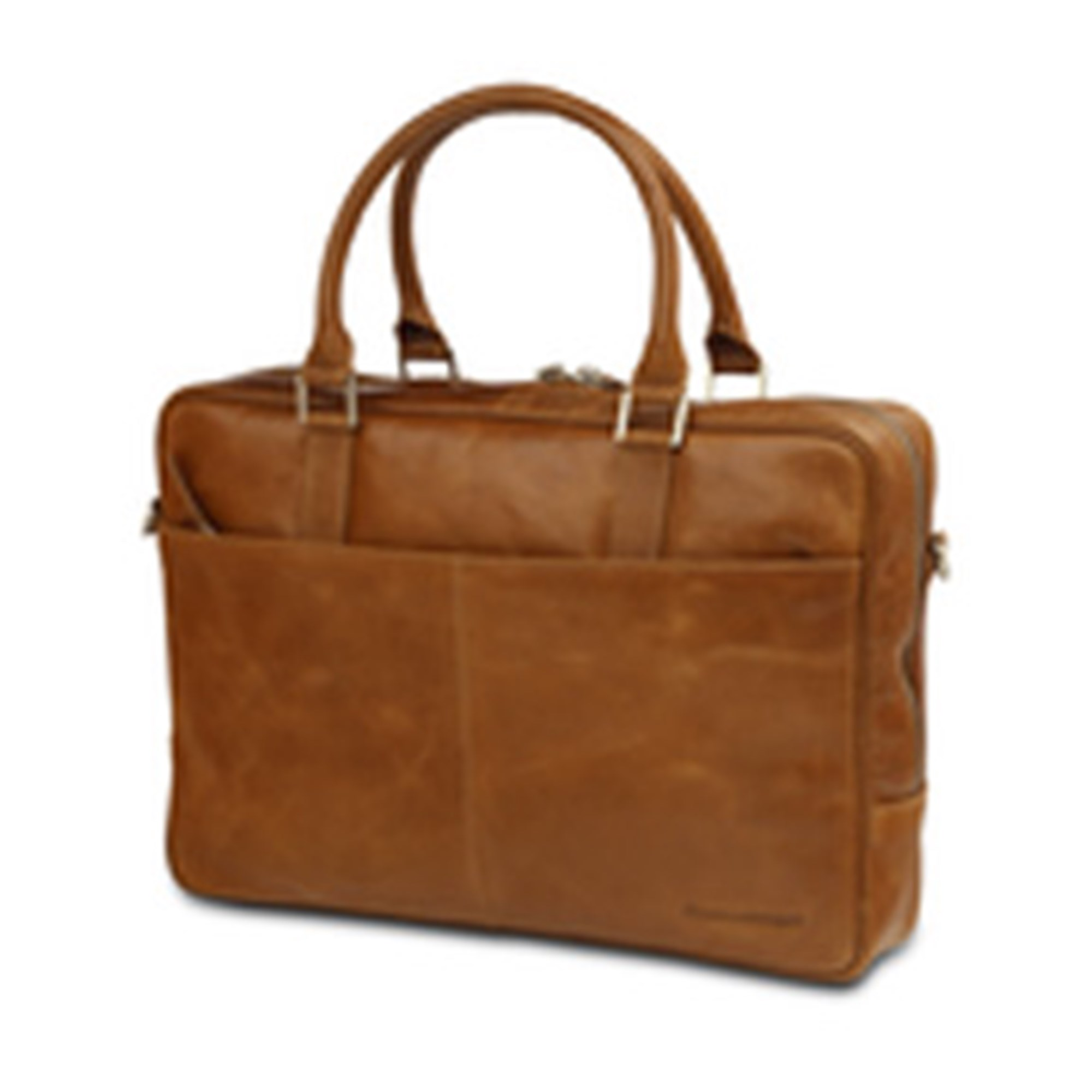 Image of   14'' Business Bag Rosenborg, Golden Tan