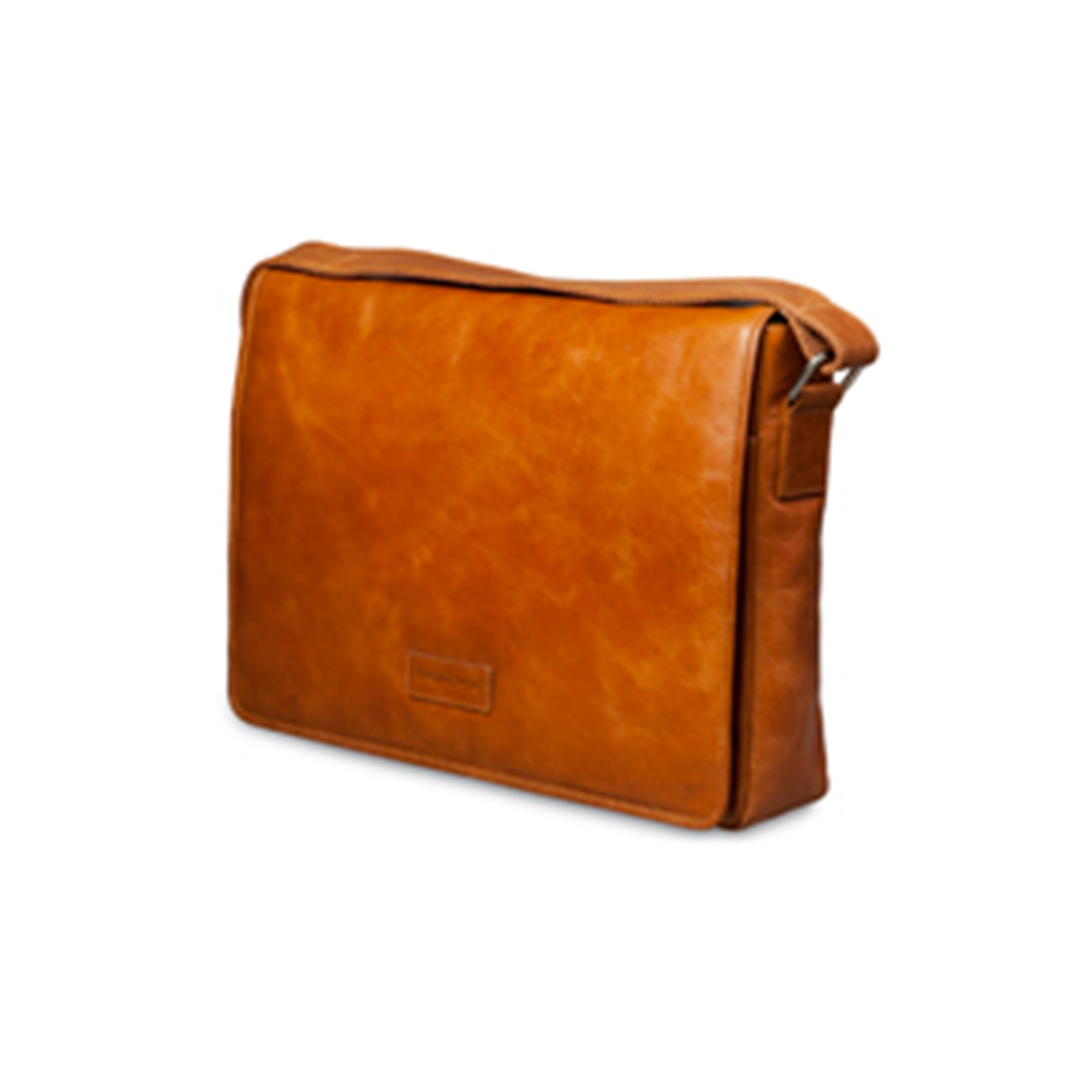 Image of 14'' Messenger Bag Marselisborg, Golden Tan