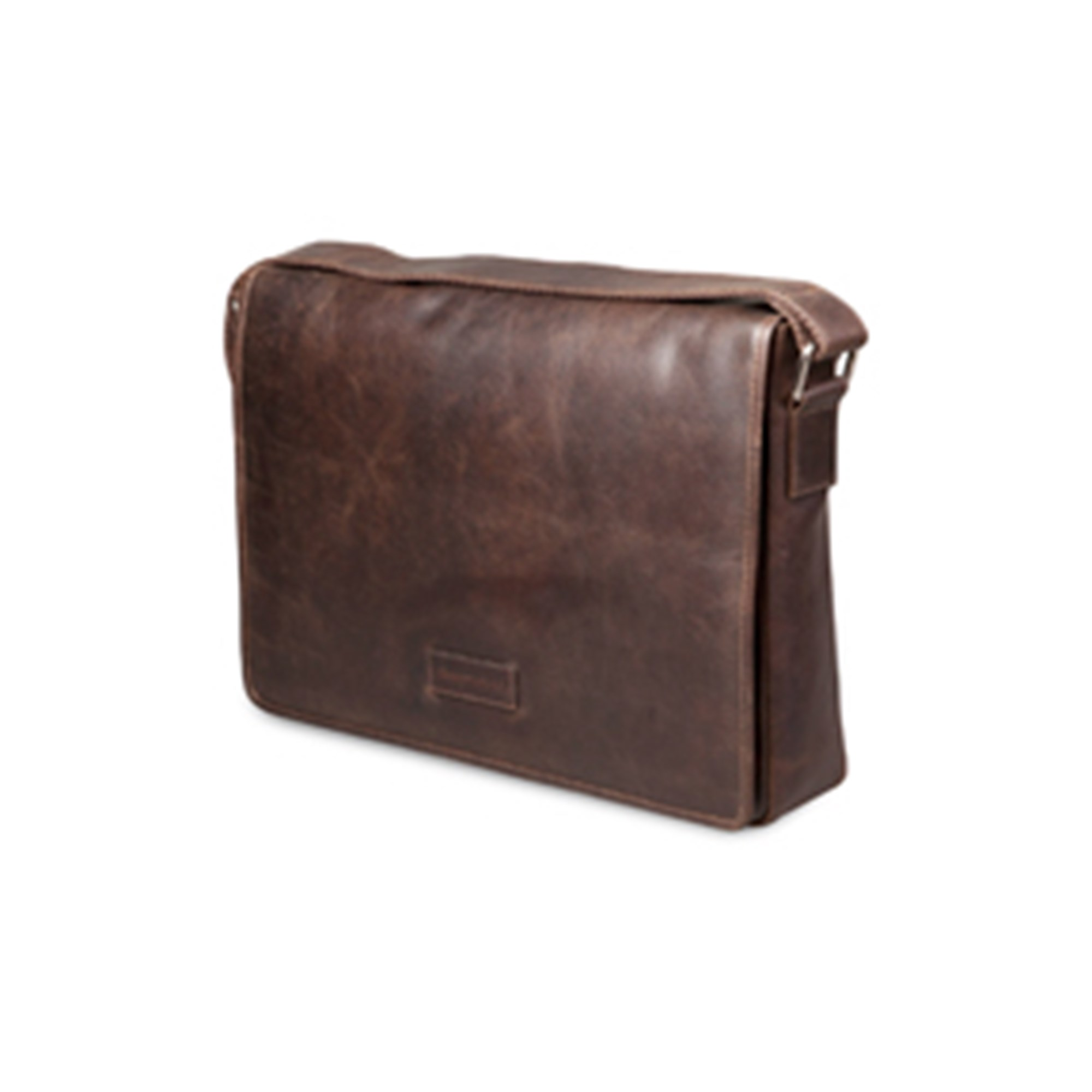 Image of 14'' Messenger Bag Marselisborg, Hunter Dark