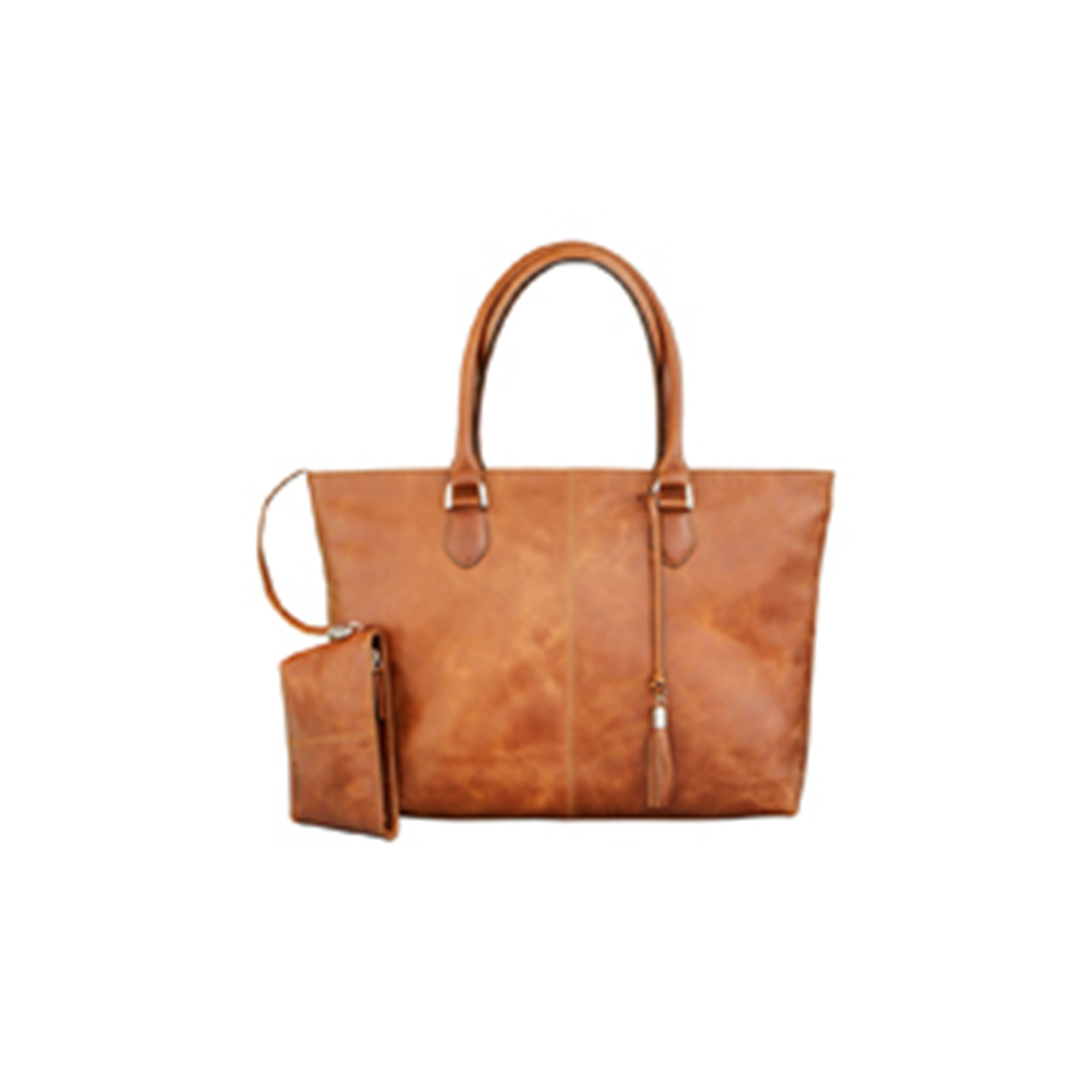 Image of   15'' PC Bag Sophie Amalienborg, Golden Tan