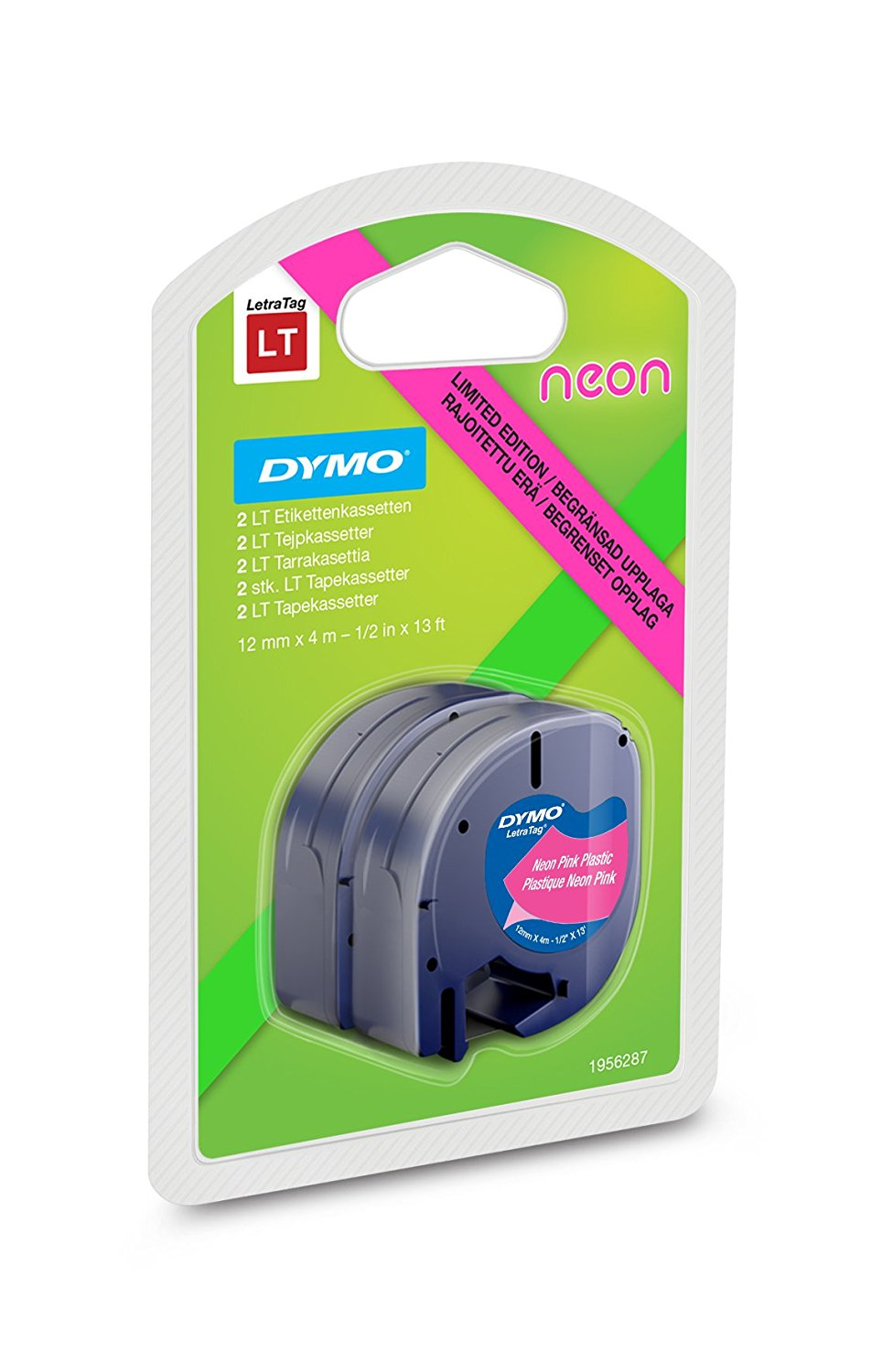 Image of   Tape DYMO LT Neon (2-pack)