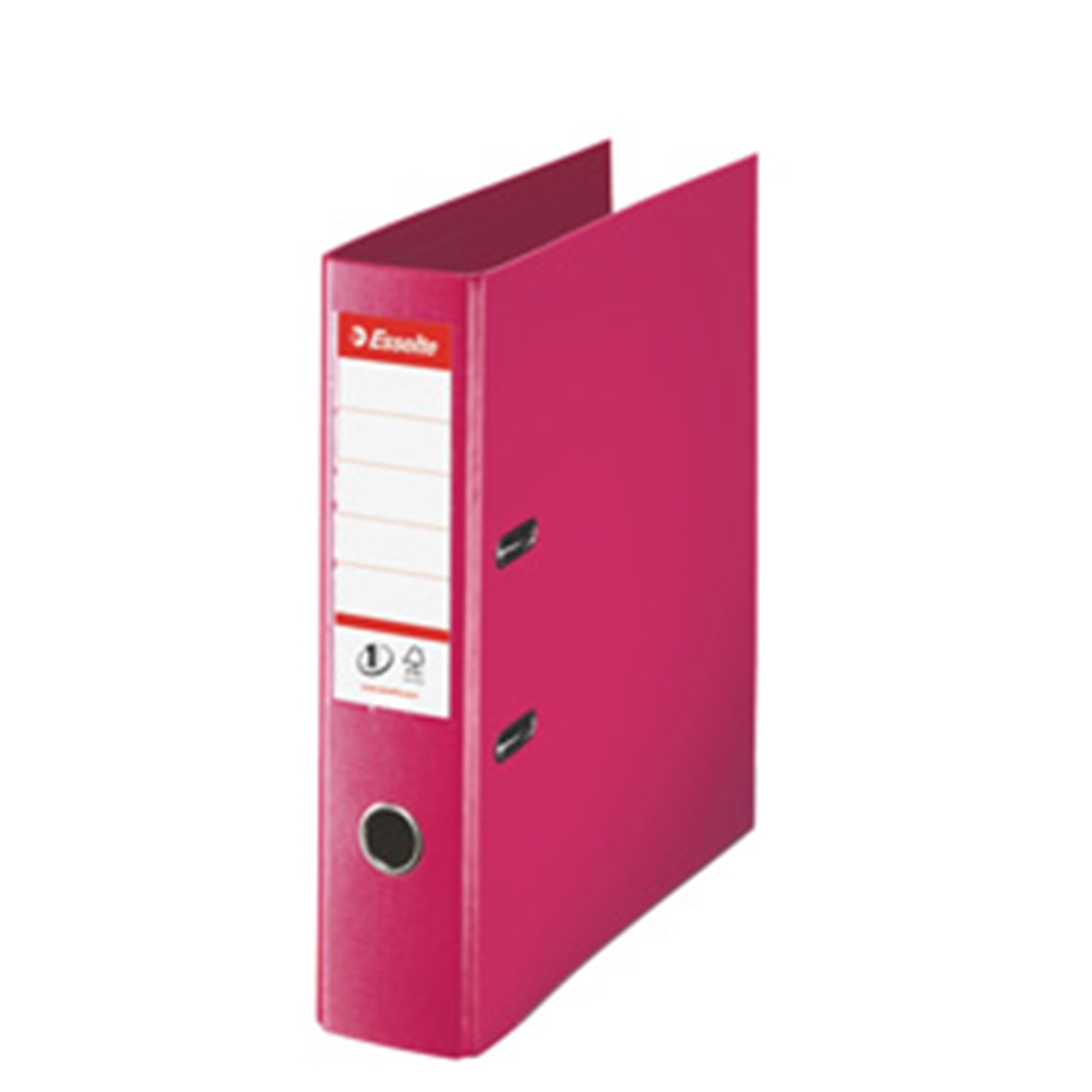 Image of   Brevordner No1 Power PP A4 75mm fuchsia