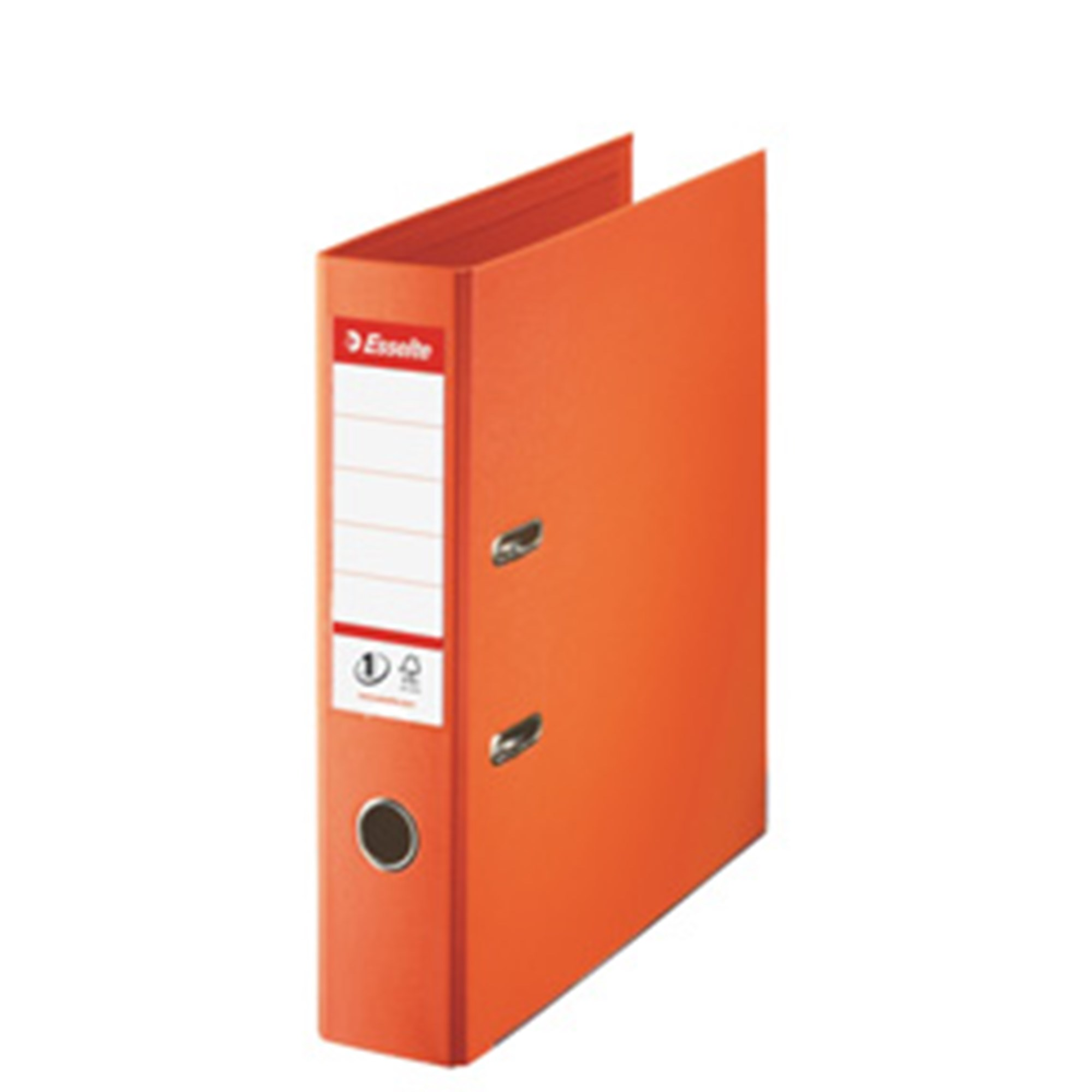 Image of   Brevordner No1 Power PP A4 75mm orange