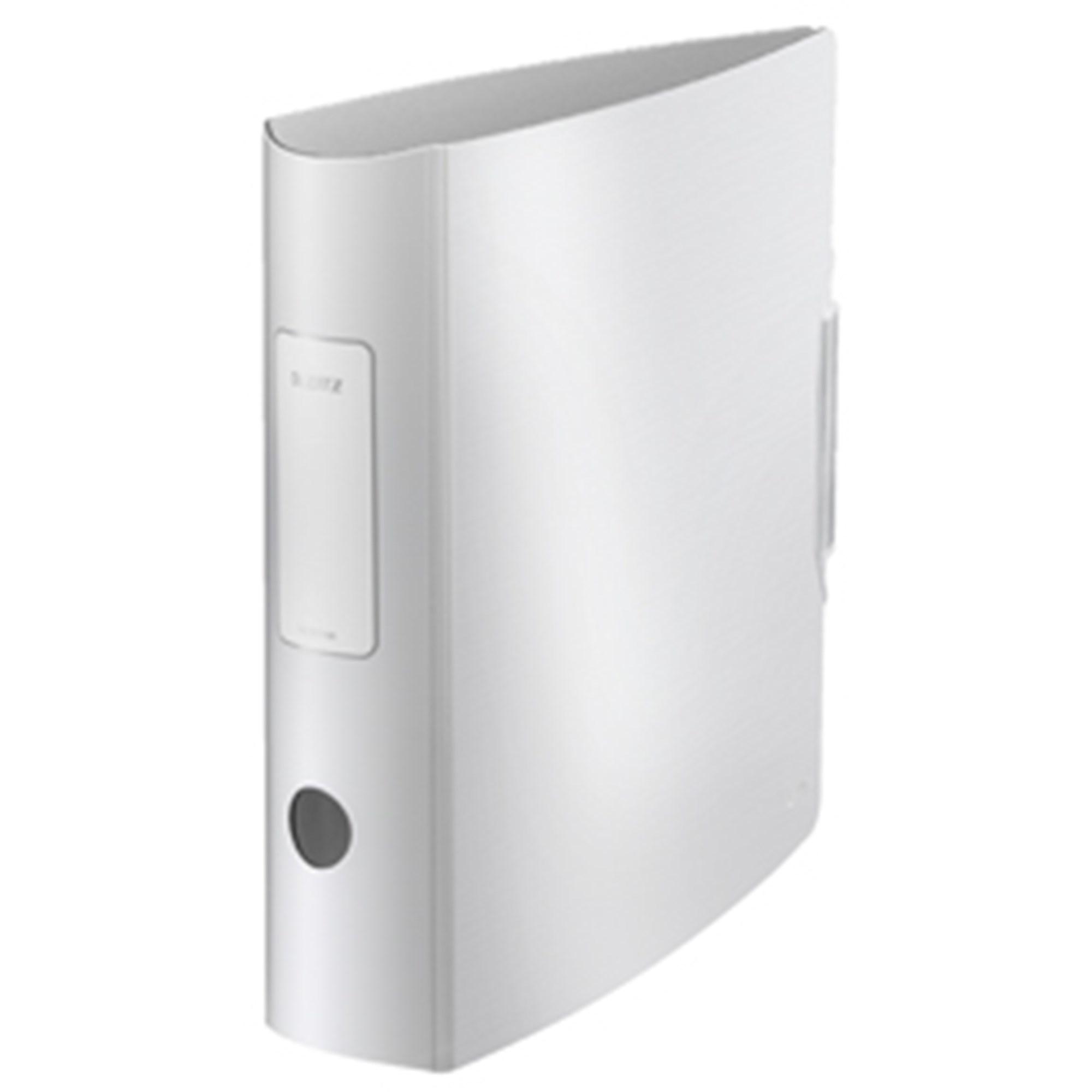 Image of   Brevordner Style PP A4 80mm hvid