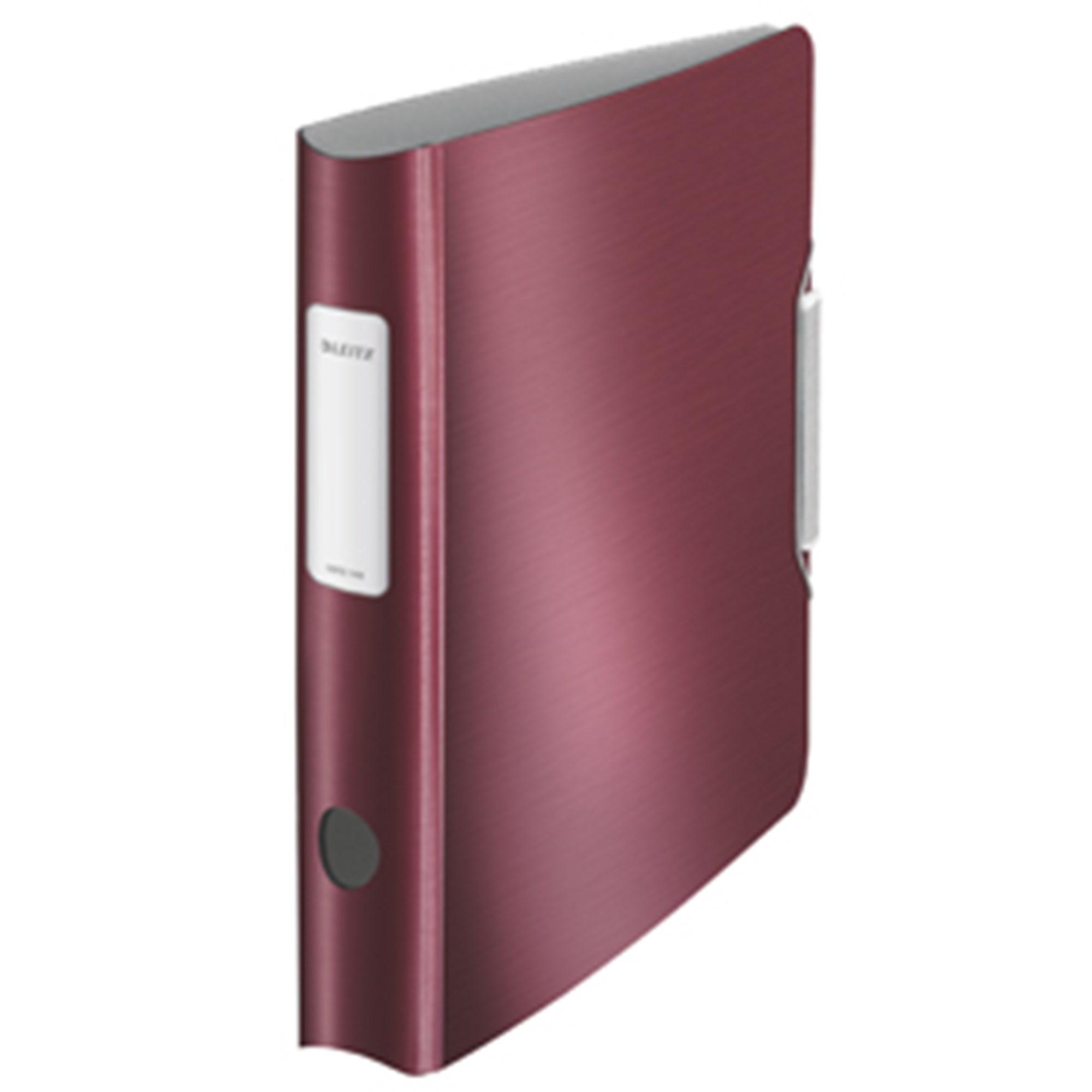 Image of   Brevordner Style PP A4 60mm rød