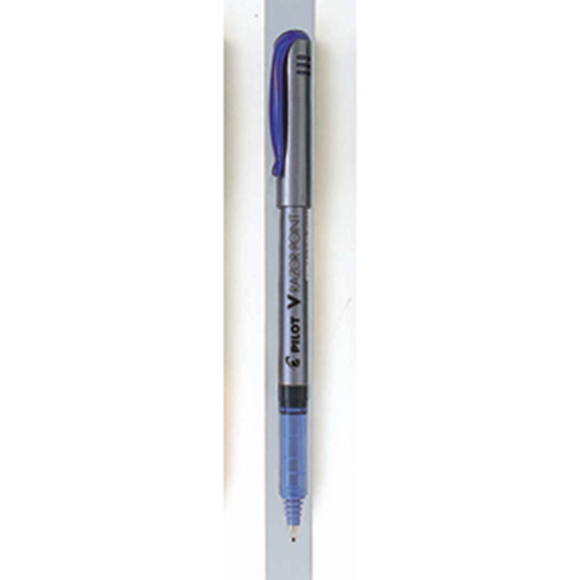 Image of   Filtpen m/hætte V-Razor Point 0,8 blå