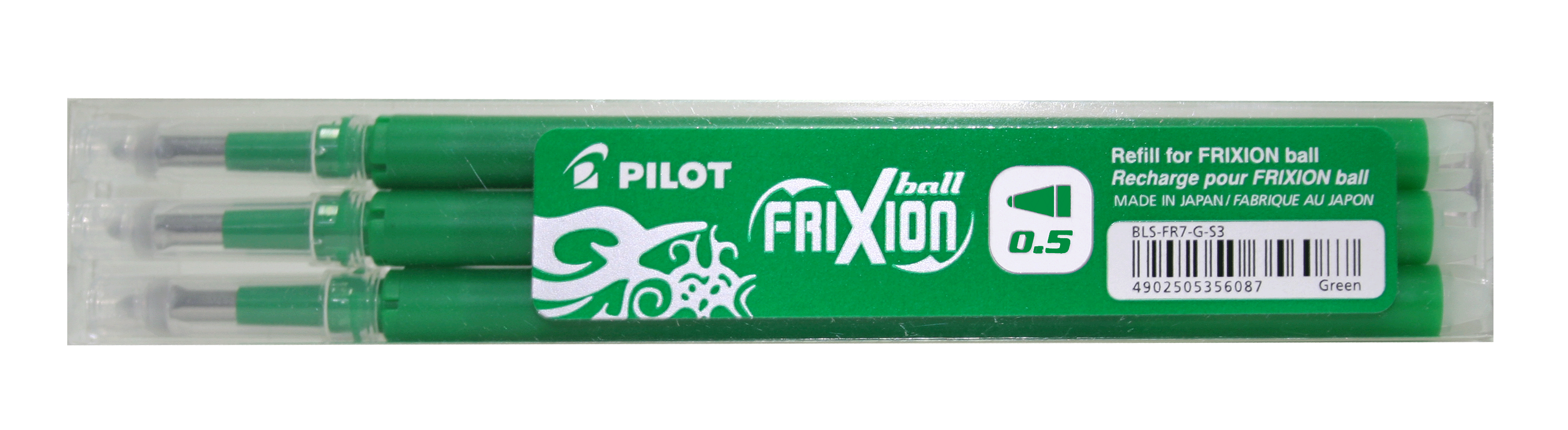 Image of   Frixion Clicker 0,5 refil grøn (3)