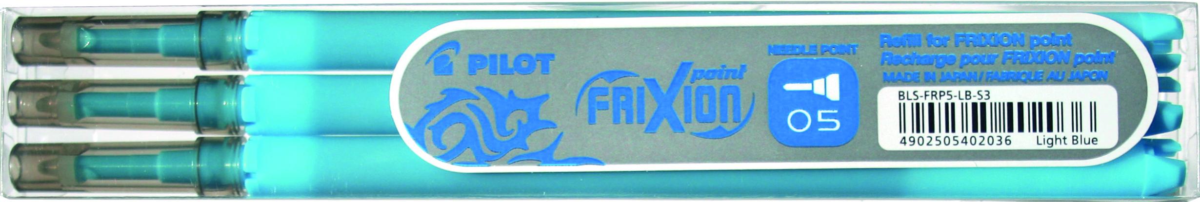 Image of   Frixion Clicker 0,5 refil lyseblå (3)