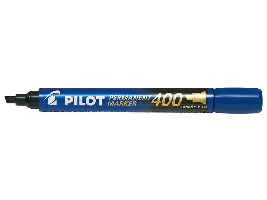 Image of   Marker Permanent 400 skrå blå