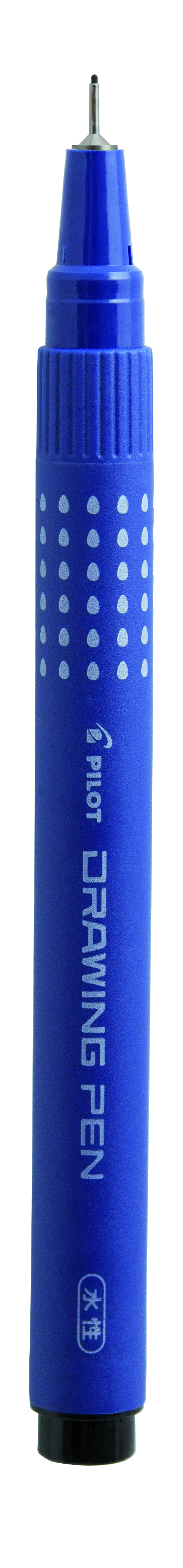 Image of   Filtpen m/hætte Drawing Pen 0,2mm sort - PLT86311