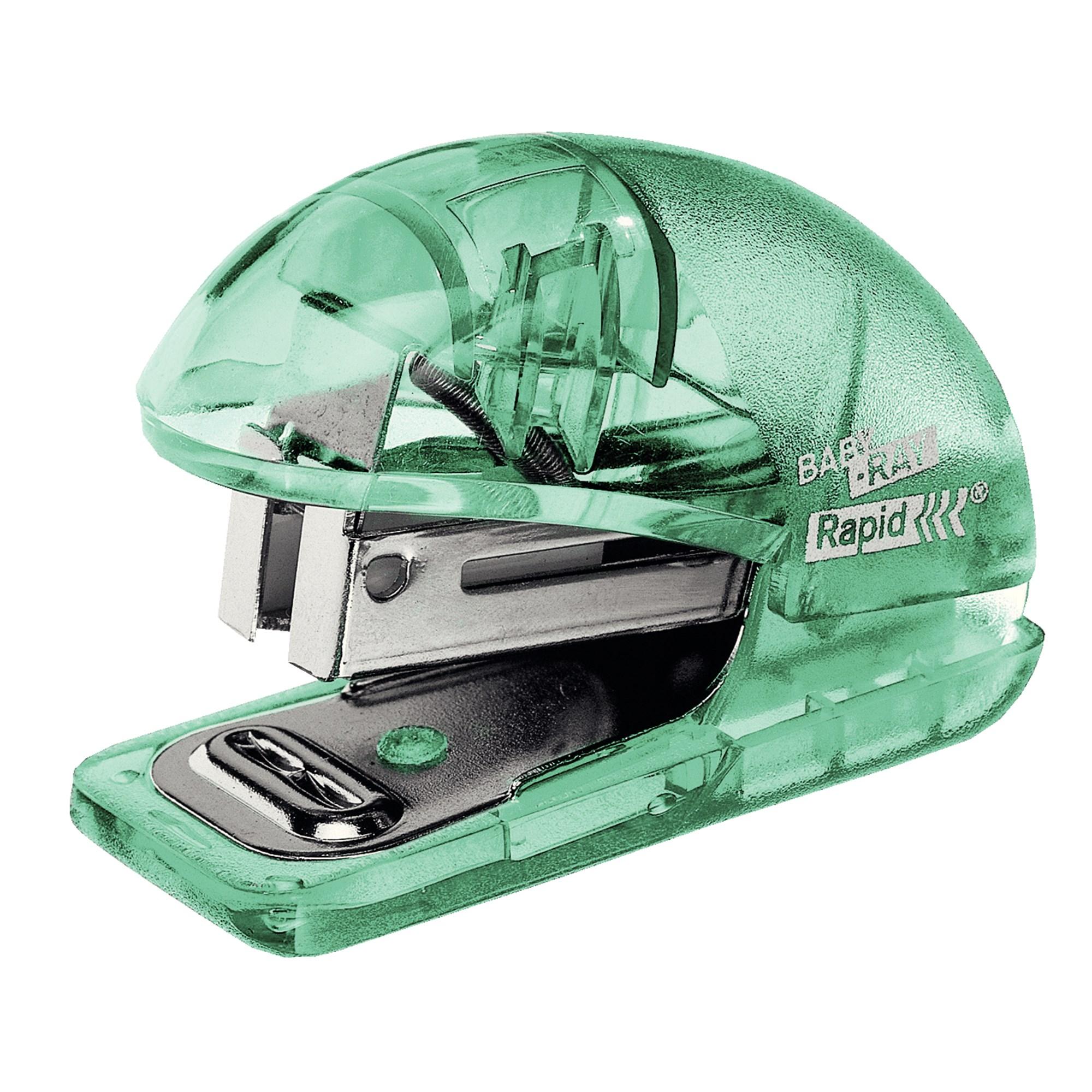 Billede af Rapid, Hæftemaskine Colour'Ice t/10ark+klammer grøn