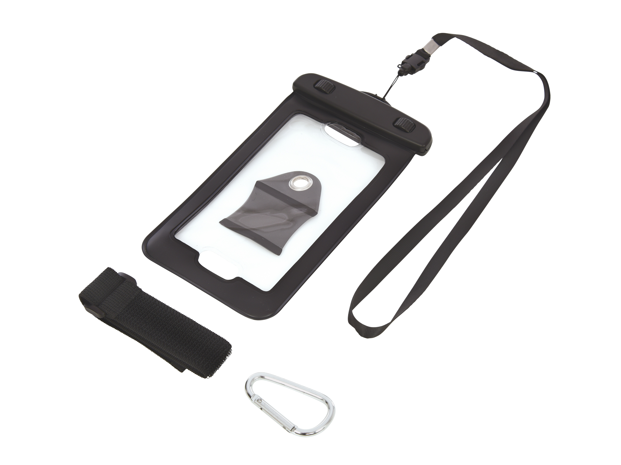 Image of   5.5'' Waterproof Phone Pouch, Black