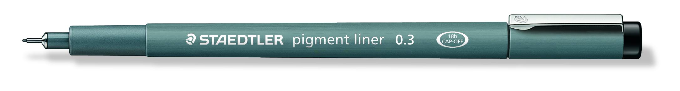 Image of   Fineliner pigment liner 0,3mm sort