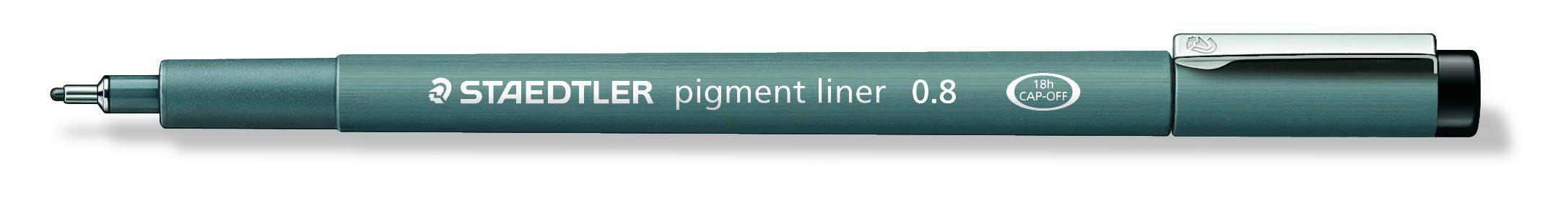 Image of   Fineliner pigment liner 0,8mm sort