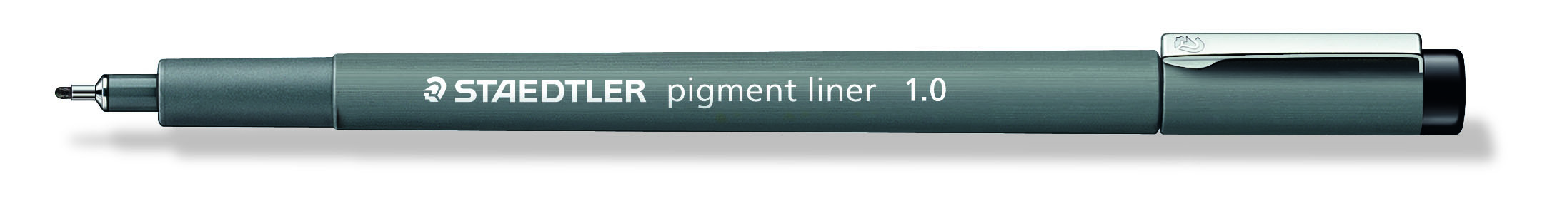 Image of   Fineliner pigment liner 1,0mm sort - STA308109