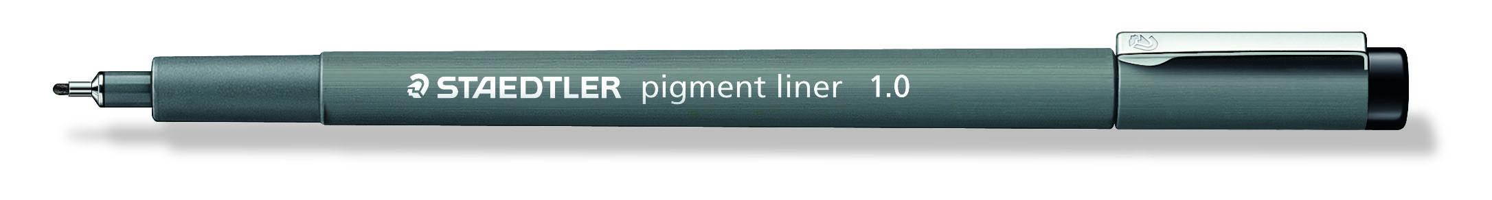 Image of   Fineliner pigment liner 1,0mm sort