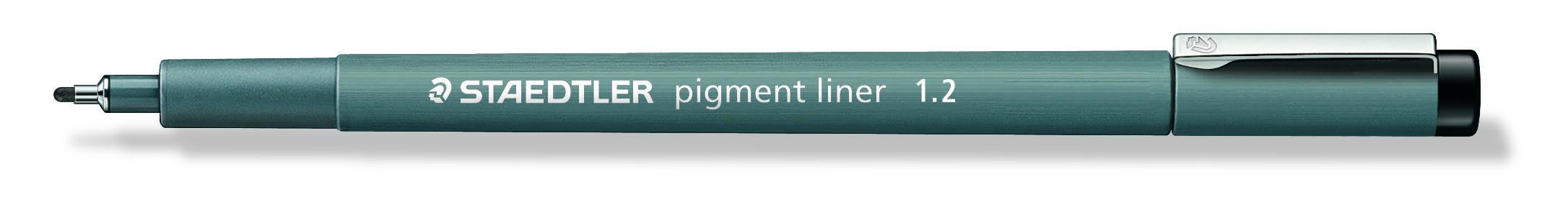 Image of   Fineliner pigment liner 1,2mm sort