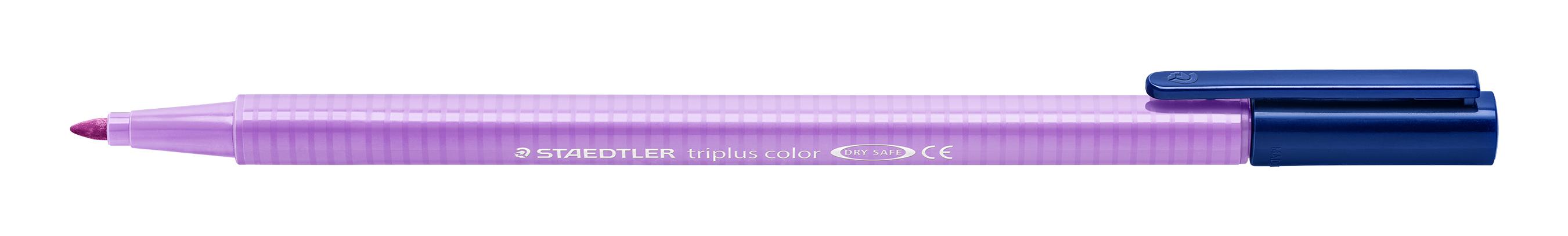 Image of   Fiberpen Triplus Color 1,0mm lavendel