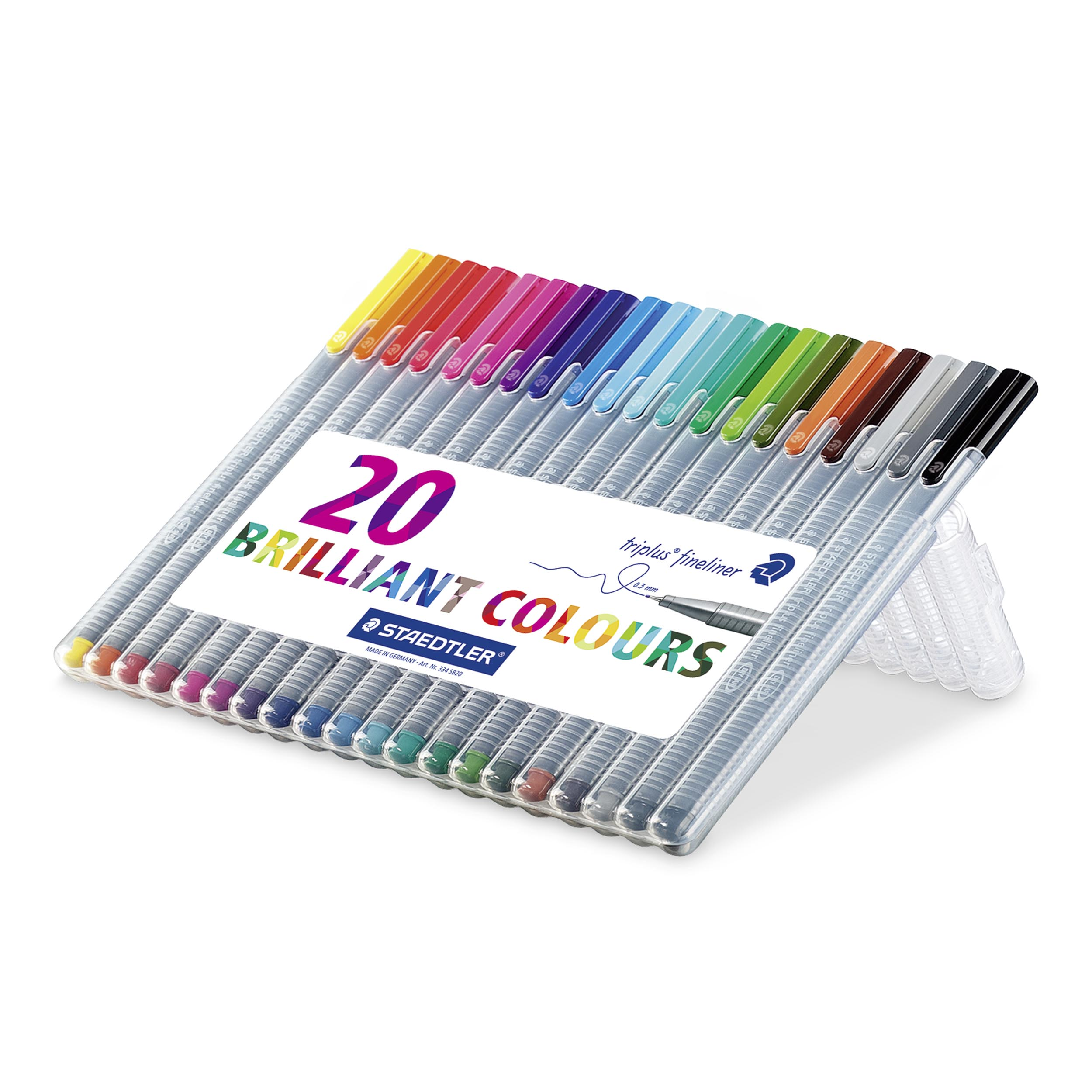 Image of   Fineliner Triplus 0,3mm ass (20)