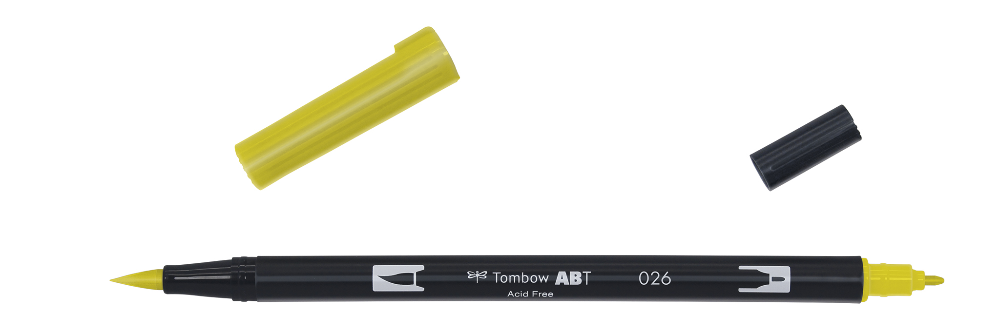 Image of   Marker Tombow ABT Dual Brush 026 yellow gold