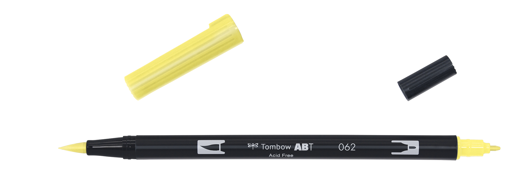 Image of   Marker Tombow ABT Dual Brush 062 pale yellow