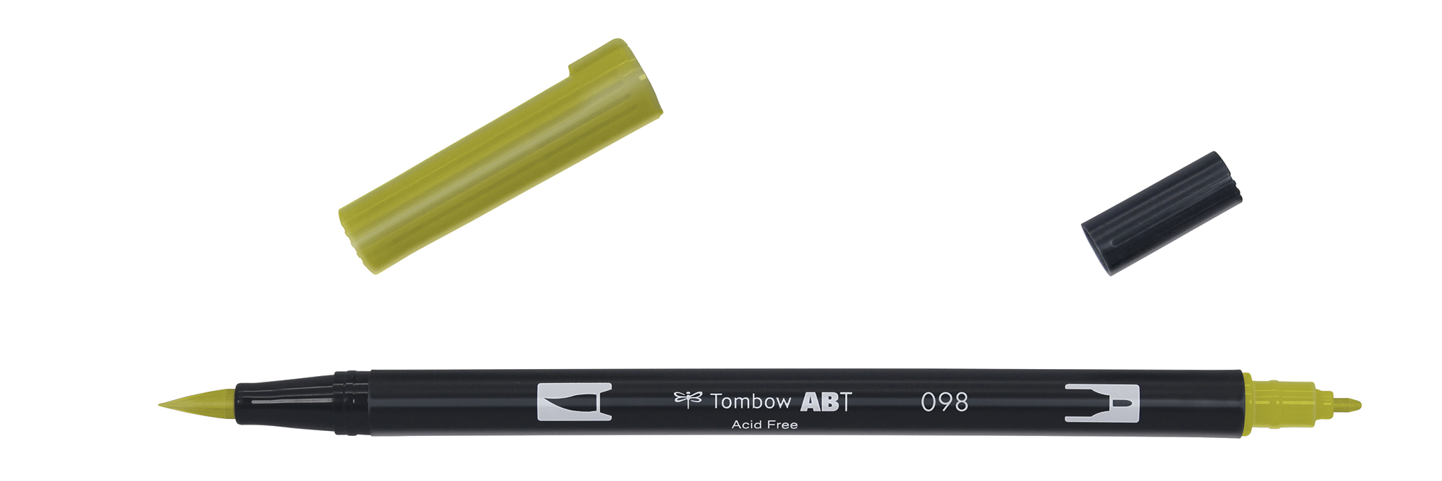 Image of   Marker Tombow ABT Dual Brush 098 avocado
