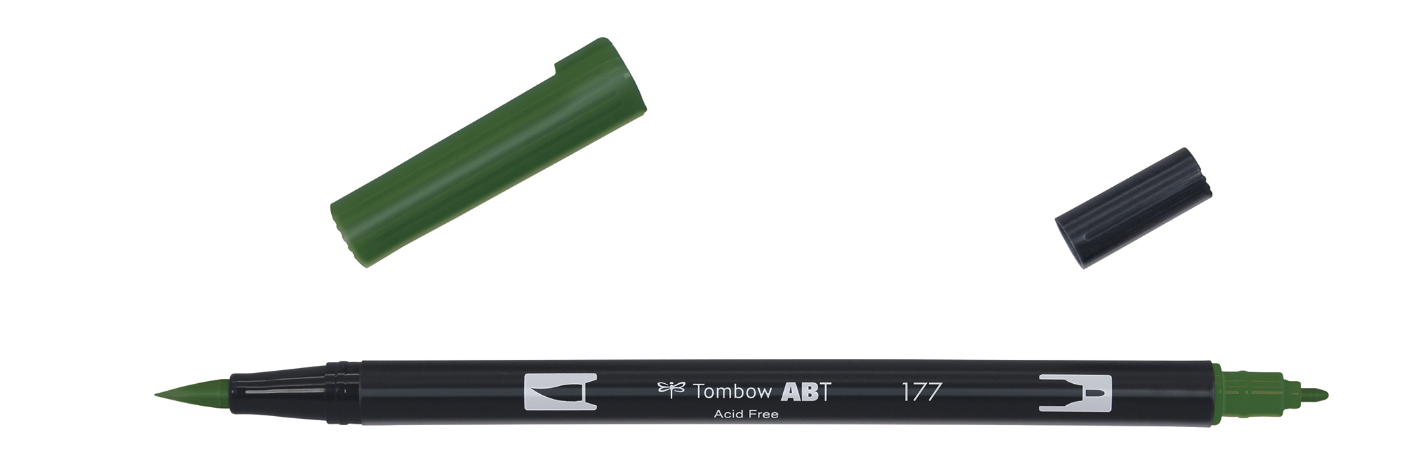 Image of   Marker Tombow ABT Dual Brush 177 dark jade