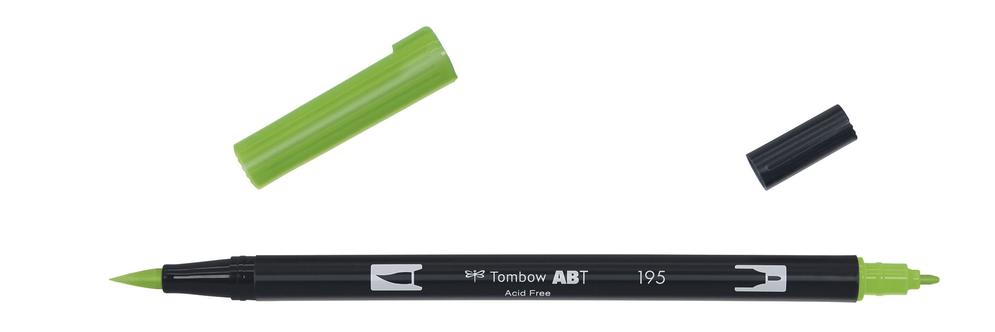 Image of   Marker Tombow ABT Dual Brush 195 light green