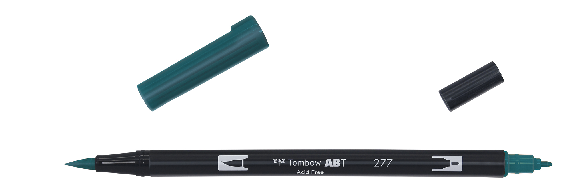 Image of   Marker Tombow ABT Dual Brush 277 dark green