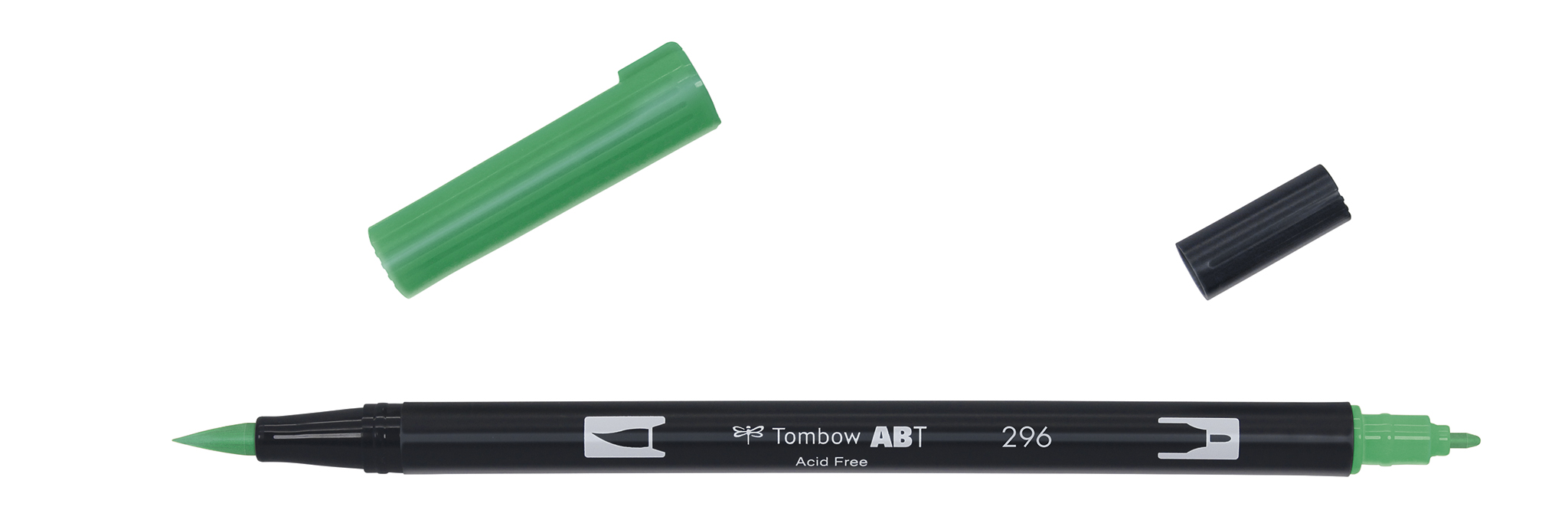 Image of   Marker Tombow ABT Dual Brush 296 green
