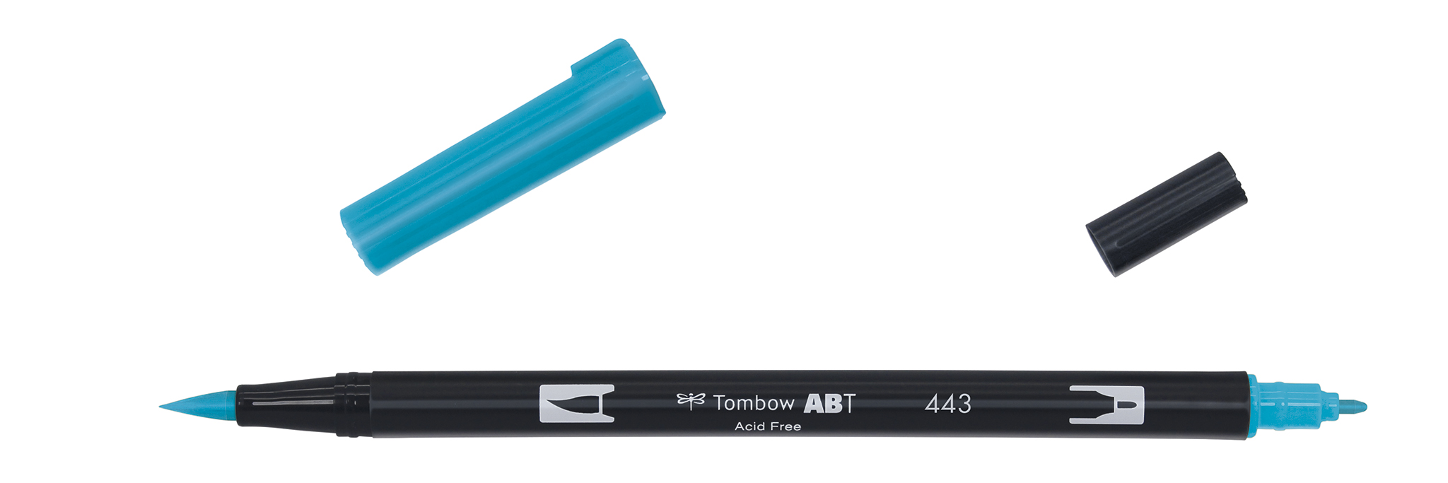 Image of   Marker Tombow ABT Dual Brush 443 turquoise