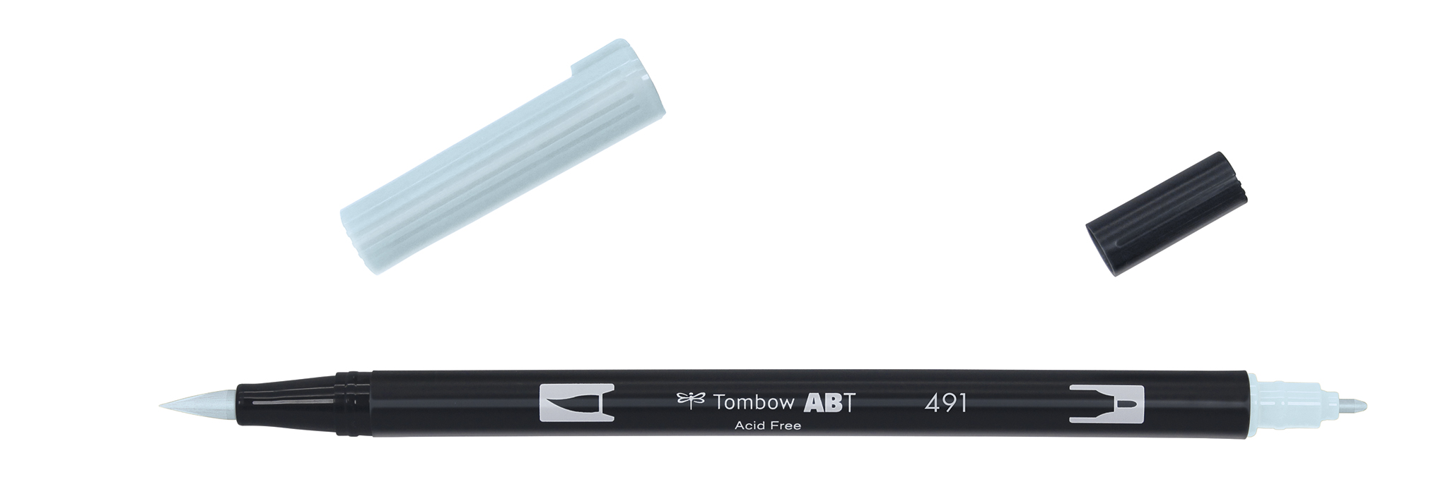Image of   Marker Tombow ABT Dual Brush 491 glacier blue