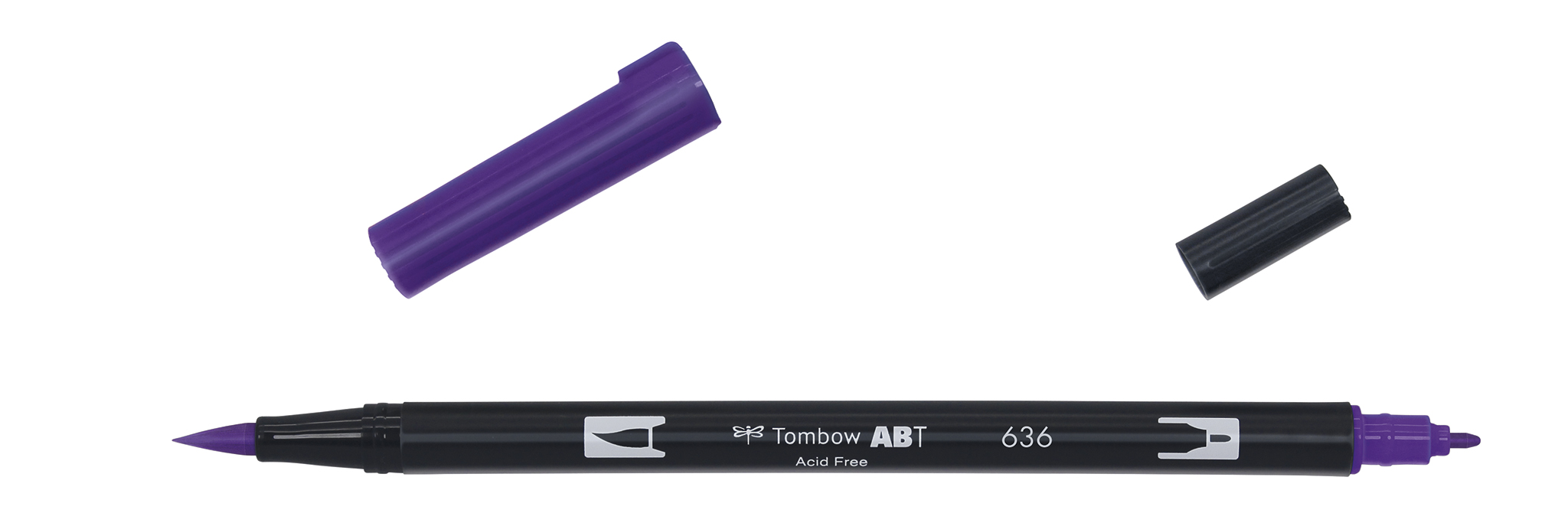 Image of   Marker Tombow ABT Dual Brush 636 imperial purple
