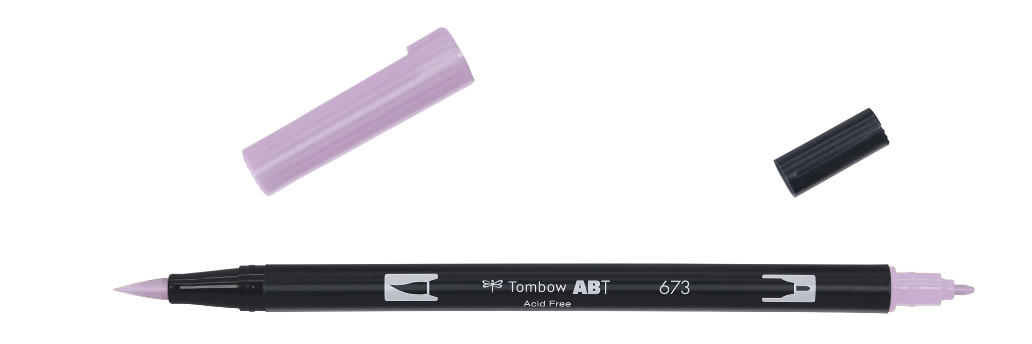 Image of   Marker Tombow ABT Dual Brush 673 orchid